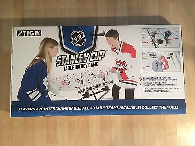 YOUR CHOICE of ANY 5 NHL TEAMS and STIGA Stanley Cup  HOCKEY Game FREE SHIPPING