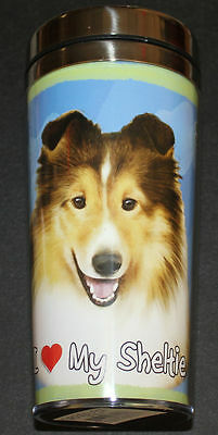 Sheltie Dog Stainless Steel Insulated Travel Tumbler Thermos