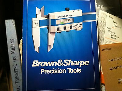 102416 Vintage Brown And Sharp  Catalog Manual Precision Tools