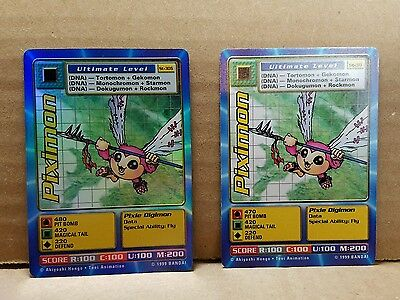 Digimon Card Piximon Holo ST-30s and ST-30