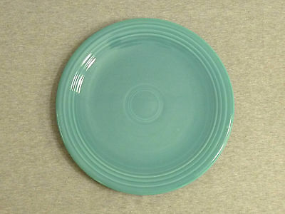 "Vintage Fiesta Turquoise 13"" Chop Plate Serving Plate"