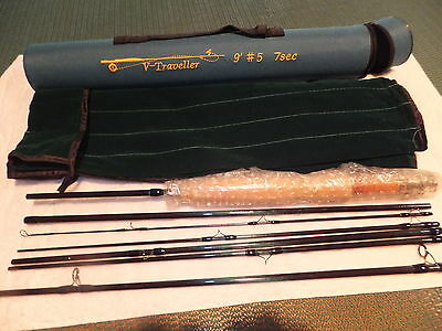 Fly Rod Brand New Smuggler Type 7 Pc 5 Wt 9 Ft
