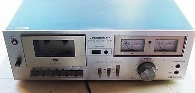 Vintage 1970's 1980's Technics M7 M-7 Cassette Tape Deck Player Stereo