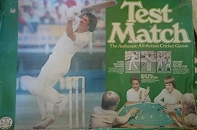Test Match Cricket Board Game 'All the thrills of one day cricket'