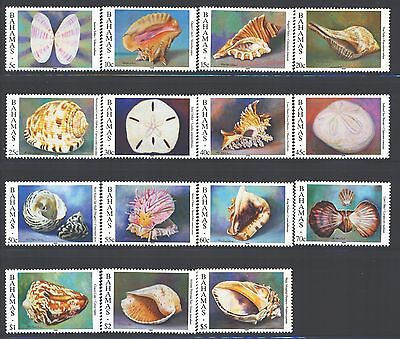 BAHAMAS Sc849-63 SG1058-72 MNH 1996 Sea Shells short set of 15 to $5 SCV$42