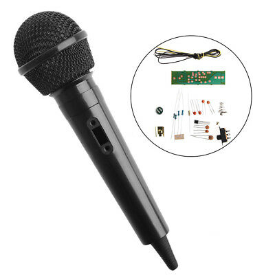FM Frequency Modulation Wireless Microphone Suite Electronic Teaching DIY Kits