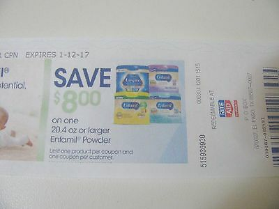 Rite-Aid Enfamil Coupon $8 on One 20.4 Oz or Larger Exp 1-12-17