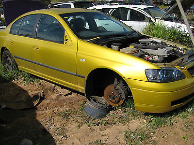 2003 BA Falcon brake assy WRECKING this vehicle (see description)