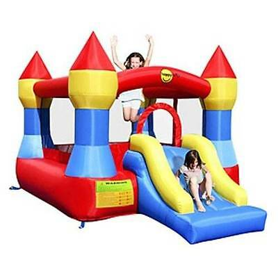 Red and Blue Jumping Castle with Slide 9017 (Happy Hop)