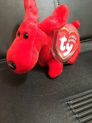 Ty Jingle Beanie (Ornament) Rover Red Dog
