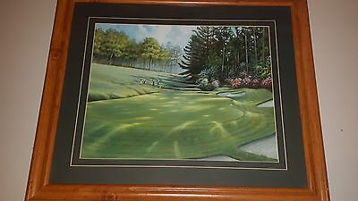 Ron Jenkins Golf Course Painting SIGNED BY ARTIST
