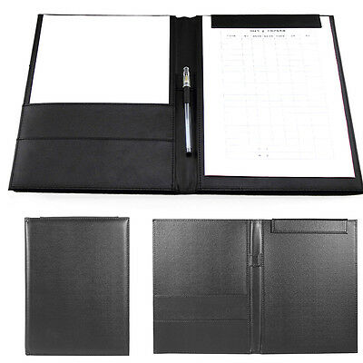 Leather Envelope Writing Pad Magnetic Closure Professional Folder Clipboard Gift