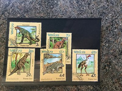 Various Prehistoric Animal Stamps