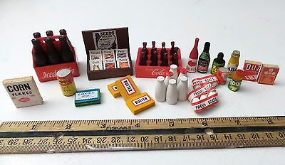 Mixed Lot of Dollhouse Miniatures Lot 1
