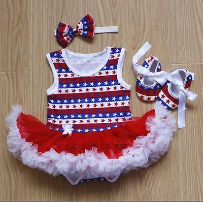 "Clothes For 22"" Newborn Reborn Dolls Baby Girl Dress + Headdress + Shoes"
