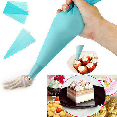 L Silicone Reusable Cake Piping Bag Icing Cream Pastry Decorating Tool