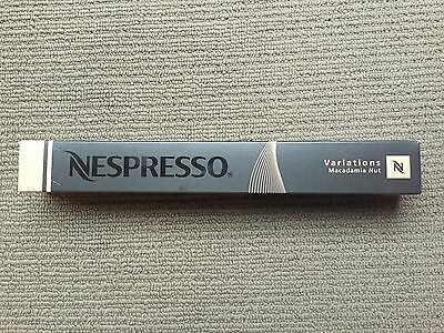 Brand New Nespresso 2012 Limited Edition Capsules - Macadamia Nut