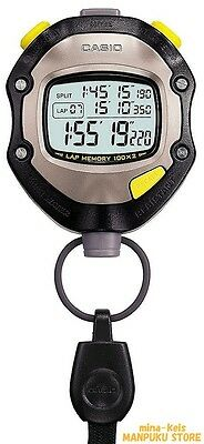 CASIO Professional Sport Waterproof Stopwatch HS-70W-1JH from JAPAN F/S tracking