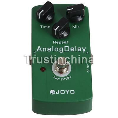 JOYO JF-33  Electric Guitar Audio Analog Delay Drive Effect Pedal True Bypass