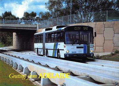 Postcard Greetings from ADELAIDE The O-BAHN BUS Australia
