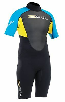 Gul Response Mens 3/2 mm Flatlock Shorti Wetsuit All Sizes and Colours RE3319