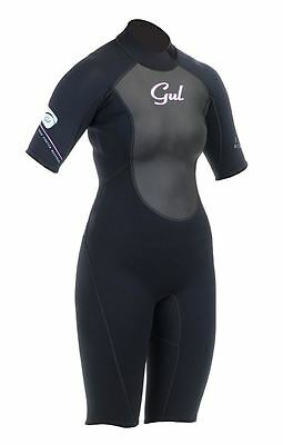 Gul Response Womens 3/2 mm Flatlock Shorti Wetsuit All Colours and Sizes RE3318
