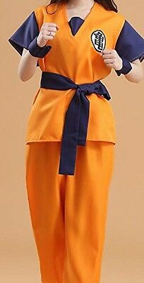 """F/S! """"Dragon Ball turtle"""" cosplay costume [martial arts clothes + wig (L)"""