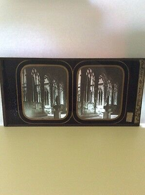Stereograph Stereoview Italy On Glass (Not Card) Rare