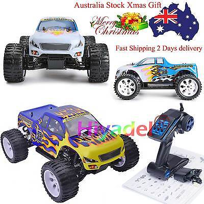 HSP RC Monster Truck Electric 4WD OFF Road Brontosaurus RTR 1/10 HSP Racing STS
