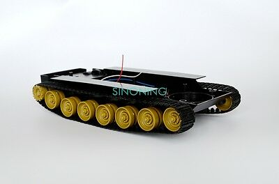 Cheap Smart Robot Tank Car Chassis Kit DIY toy Yellow track SCM for Arduino