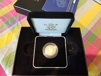 2005 proof gold sovereign rare one year design