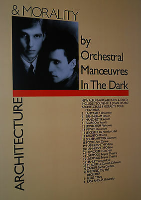 ORCHESTRAL MANOEUVRES IN THE DARK 3 ARCHITECTURE posters 60x45 each