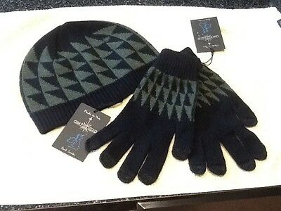 Paul Smith gloves and hat