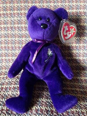 Princess Ty Bear - PVC Pellets Made In Indonesia - No Space Tag