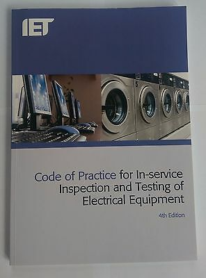 IET Code of Practice for In-Service Inspection and Testing 9781849196260