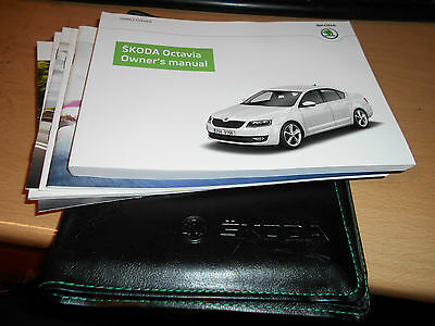 2014 Skoda Octavia Owners Handbook Manual User Guide & Wallet