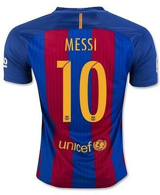 Barcelona Home Soccer jersey MESSI 10 in size S