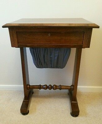 Antique  Rosewood Sewing/games table