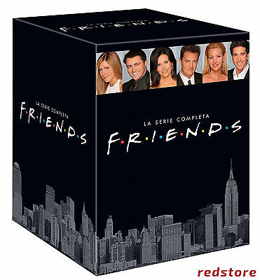 FRIENDS COFANETTO - Serie completa da 1 a 10 (49 DVD) COFANETTO UNICO, ITALIANO
