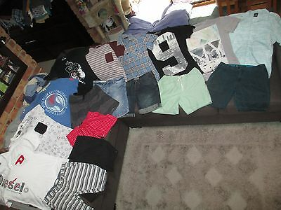 Bulk Lot Men's sz 34/Medium summer clothes: Diesel/Effekt/Yd./Zara Man/Zanerobe