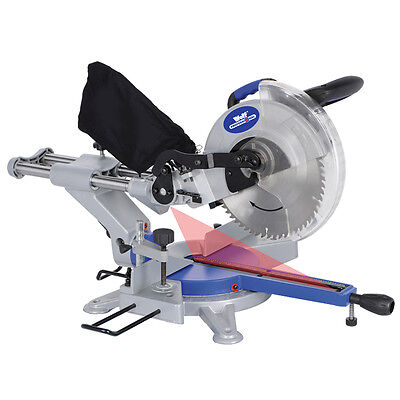 Ex Demo Wolf 250mm Sliding Compound Mitre Saw