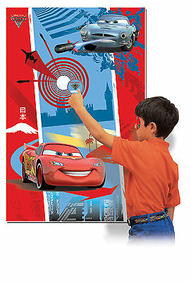 Disney Cars | Lightning McQueen Party Game for 2-68 Players - Pin the Tail