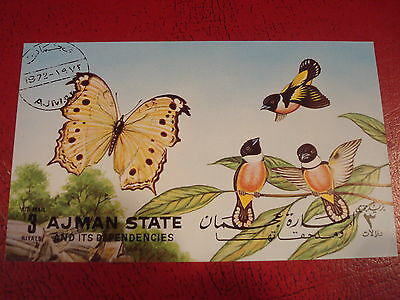 Ajman - Nature  - Minisheet - Unmounted Used - Excellent Condition