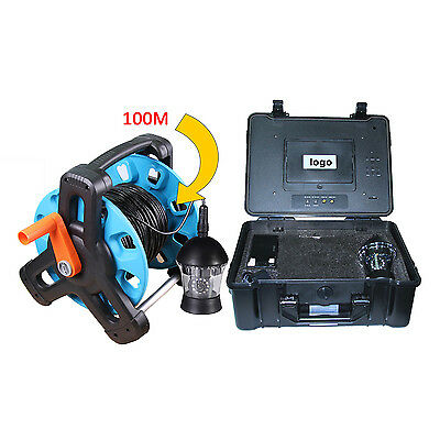 Multifunction 100M Underwater Inspection Camera 360 Degree Rotative  With DVR