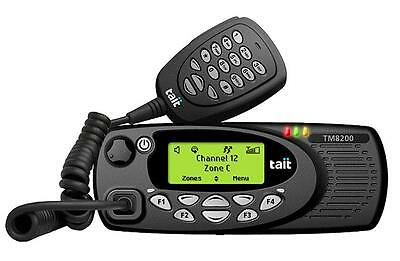 Tait Tm8255 25 Watt Low Band 66-88Mhz 4M Msa Mobile Taxi Radio - New