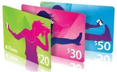 $30, $50, $100 ITunes Australia Genuine 100% Access within 24HRS