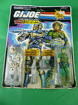 6522 Battle Force 2000 2 in 1 Set on Card - Avalanche / Blaster MOSC NOS 1987