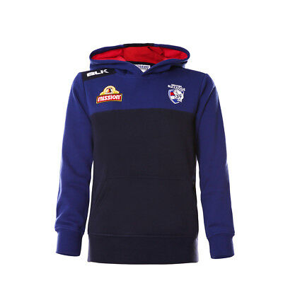 Western Bulldogs 2016 AFL Junior Kids Pullover Hoodie Jumper BNWT Footy Clothing