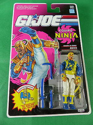 06732  GI Joe Equipo Ninja Spain - Doyo  Action Figure  MOSC NOS 1992
