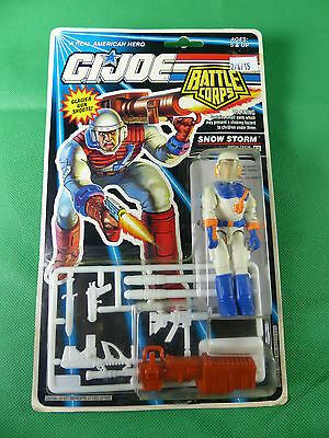6779   GI Joe Battle Corps Snow Storm   Action Figure 1992   MOSC NOS